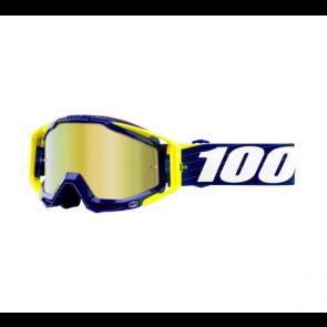 MTB Goggle Ride 100% Racecraft Bibal Navy Blau